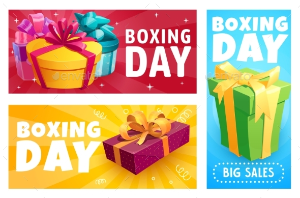 Boxing Day Gift Boxes, Christmas Presents Sale
