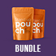 BUNDLE 3 PSD  Stand-Up Pouch  Mockup - GraphicRiver Item for Sale