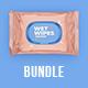 Wet Wipes Mockup BUNDLE - 5 PSD - GraphicRiver Item for Sale