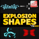 Explosion Shapes | Motion Graphics - VideoHive Item for Sale