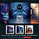 Electro Music CD/DVD Template Bundle Vol. 9 - GraphicRiver Item for Sale