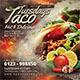 Taco Tuesdays Flyer - GraphicRiver Item for Sale