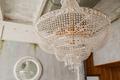 Chrystal chandelier close-up in loft interior - PhotoDune Item for Sale