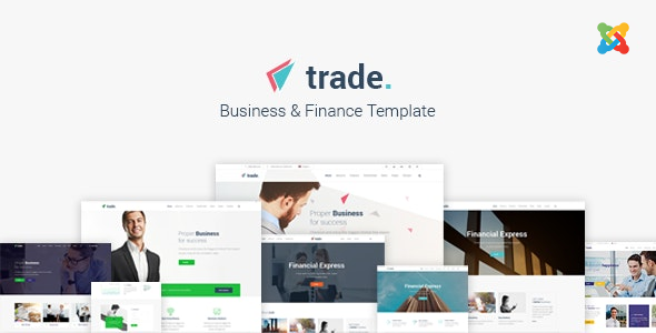 Download Trade - Multipurpose Business and Finance Joomla Template