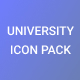 University Icon Pack - GraphicRiver Item for Sale