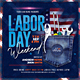 Labor Day Flyer - GraphicRiver Item for Sale