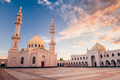Beautiful White Mosque at Sunset. - PhotoDune Item for Sale