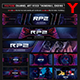 Real Player Zone Gaming Channel Youtube Channel Art/Video Thumbnail and Ending Video Template - GraphicRiver Item for Sale