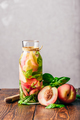 Infused Water with Peach and Basil - PhotoDune Item for Sale