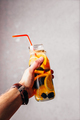 Hand with Bottle of Chilled Water. - PhotoDune Item for Sale