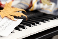 Close up of the electronic piano - PhotoDune Item for Sale