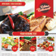 Delicious Restaurant Flyer Template - GraphicRiver Item for Sale