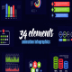 Corporate Infographics Vol.50 - VideoHive Item for Sale