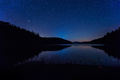 Starry sky above mountain lake - PhotoDune Item for Sale