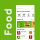 3 in 1 Food Ordering, Restaurant App & Delivery App UI Kit - GraphicRiver Item for Sale