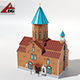 Church Surb Gevorg - 3DOcean Item for Sale