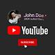 Youtube Logo Subscribe - VideoHive Item for Sale