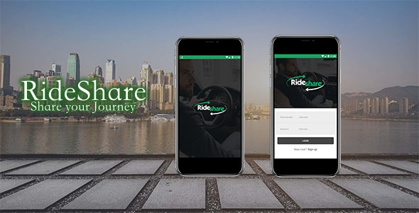 RideShare Car Pooling App Download