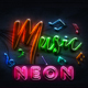 Neon Glass - VideoHive Item for Sale