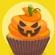 Halloween Cupcakes - GraphicRiver Item for Sale