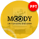 Moody Interior Presentation Template - GraphicRiver Item for Sale