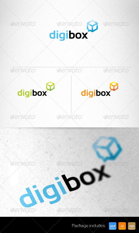 Digital Cube Communications Creative Logo