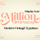 Million Dreams - GraphicRiver Item for Sale