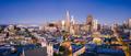 San Francisco Skyline at Dusk with City Lights, California, USA - PhotoDune Item for Sale