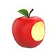 Bitten Apple - 3DOcean Item for Sale