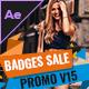 Badges Sale Promo V15 - VideoHive Item for Sale