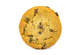 Chocolate chips cookie on white background - PhotoDune Item for Sale