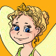 Little Girl in Fairy Costume - GraphicRiver Item for Sale