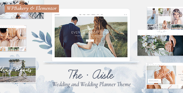The Aisle - Elegant Wedding Theme
