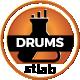 Big Trailer Advertesing Drums