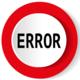 Interface Error Notification