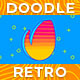 Doodle Retro Logo - VideoHive Item for Sale