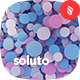 Soluto - Multicolored Confetti Background Set - GraphicRiver Item for Sale