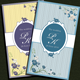 Sweet Floral Wedding Card - GraphicRiver Item for Sale