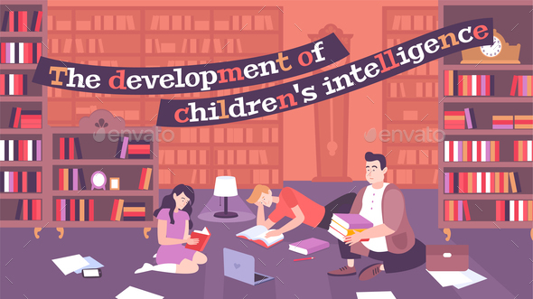 Intellectual Parenting Flat Poster