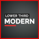 Modern Lower Thirds I Premiere Pro (Mogrt) - VideoHive Item for Sale