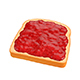 Toast with Jam - 3DOcean Item for Sale