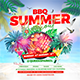 BBQ Summer Party Flyer - GraphicRiver Item for Sale