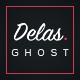 Delas -  Creative Ghost Portfolio and Magazine Theme - ThemeForest Item for Sale