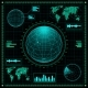 Set of Futuristic Graphic User Interface HUD - GraphicRiver Item for Sale