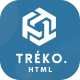 Treko - Startup and Software Landing Page template - ThemeForest Item for Sale