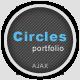 Circles - Ajax Portfolio Template - ThemeForest Item for Sale