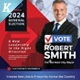 Election Campaign Flyer or Poster Templates vol.02 - GraphicRiver Item for Sale