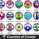 Counties of Croatia - GraphicRiver Item for Sale