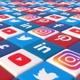 Social Media Blocks Background- Version 3 - VideoHive Item for Sale