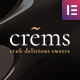 Crems - Bakery, Chocolate Sweets & Pastry WordPress Theme - ThemeForest Item for Sale